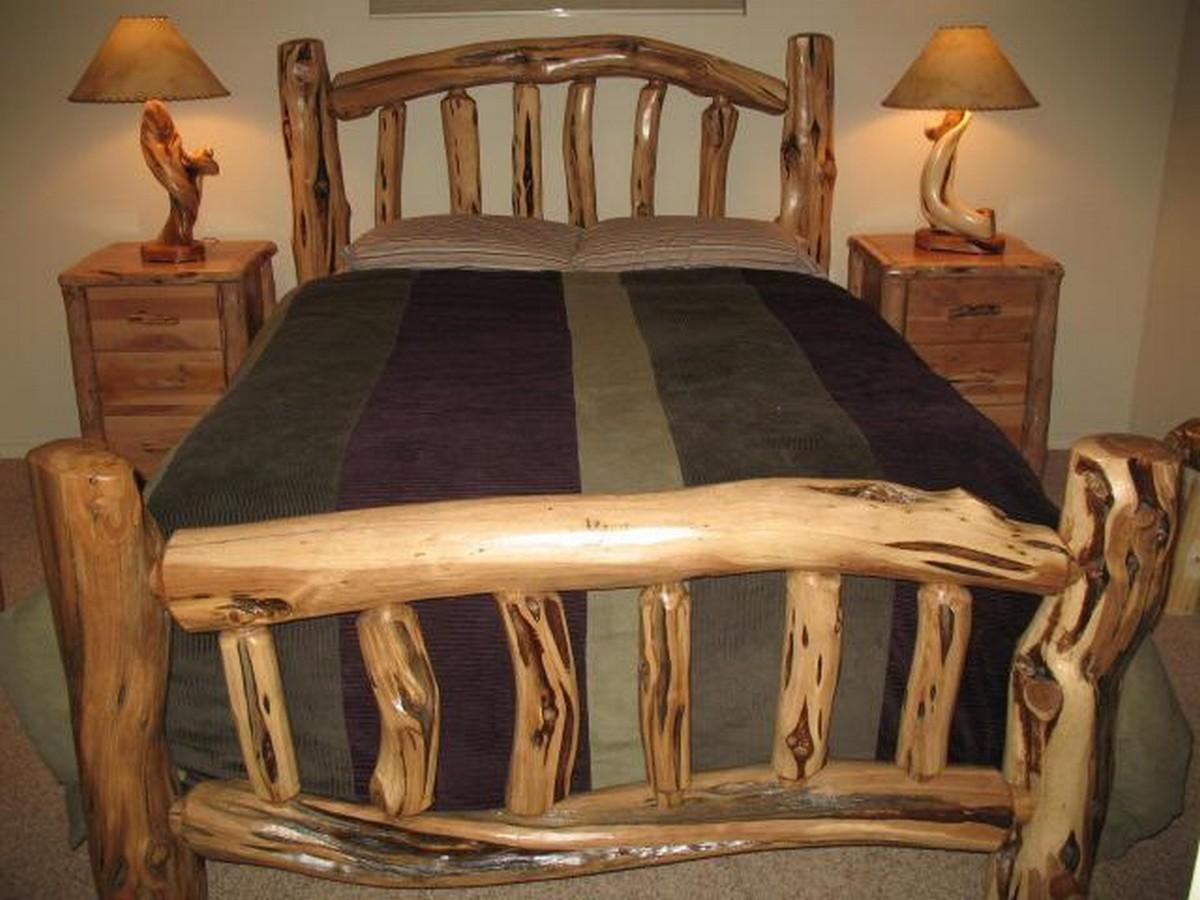 Woodwork decor ideas 1001 motive ideas for Log table design