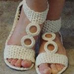 DIY crochet Shoze -3
