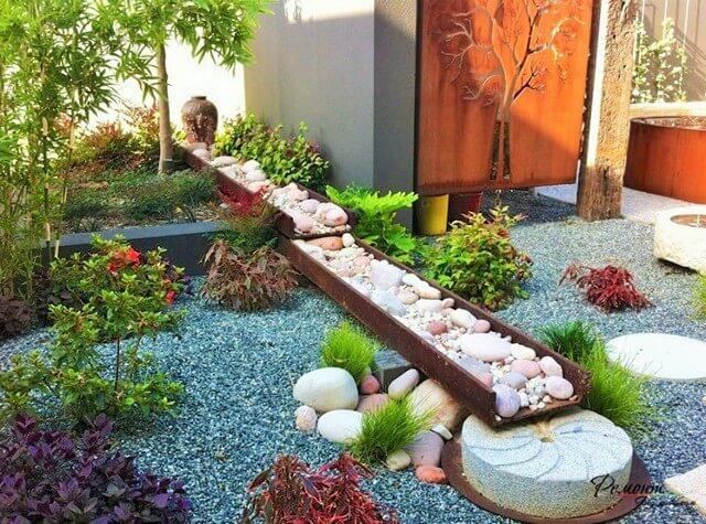 Garden-Ideas-With-Pebbles-13