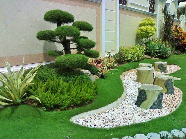 Garden-Ideas-With-Pebbles-15
