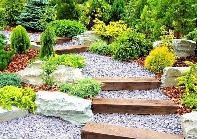 Garden-Ideas-With-Pebbles