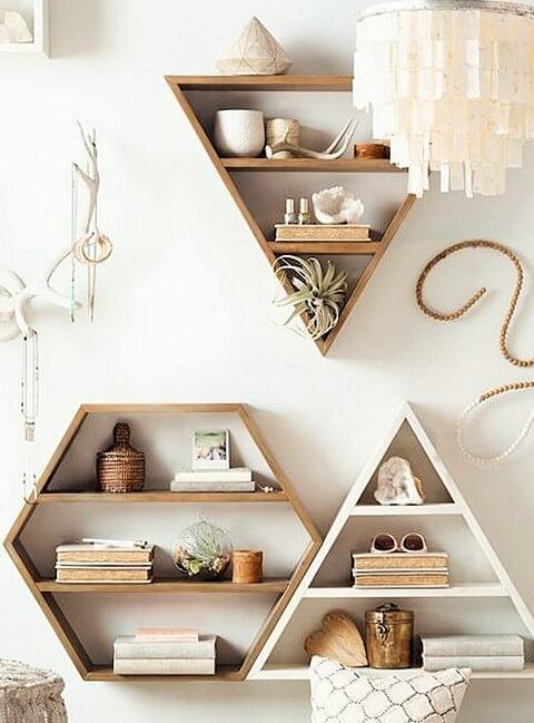 Wooden Pallets-Modern-Wall-Shelve