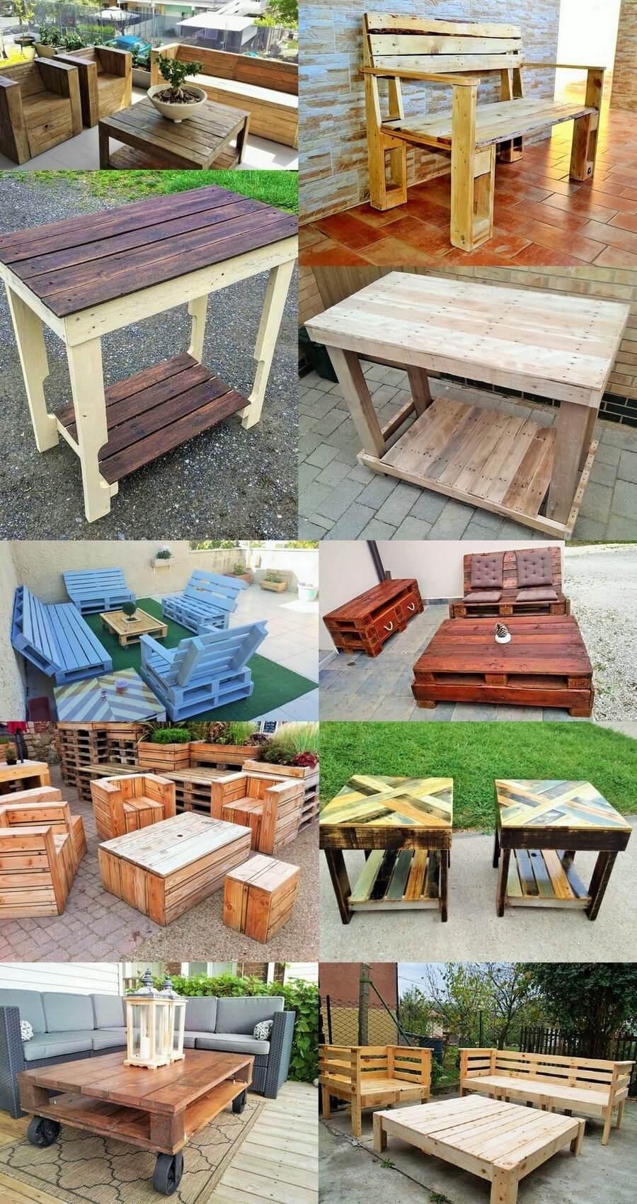 Pallets DIY Ideas