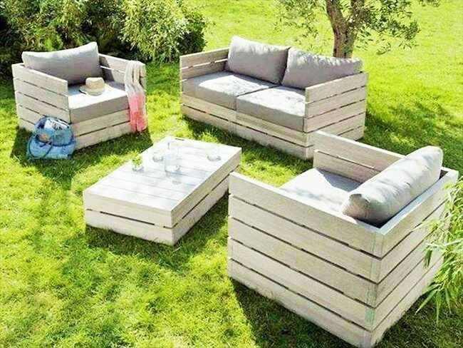 Home Decor with Wooden Pallets Furniture-5