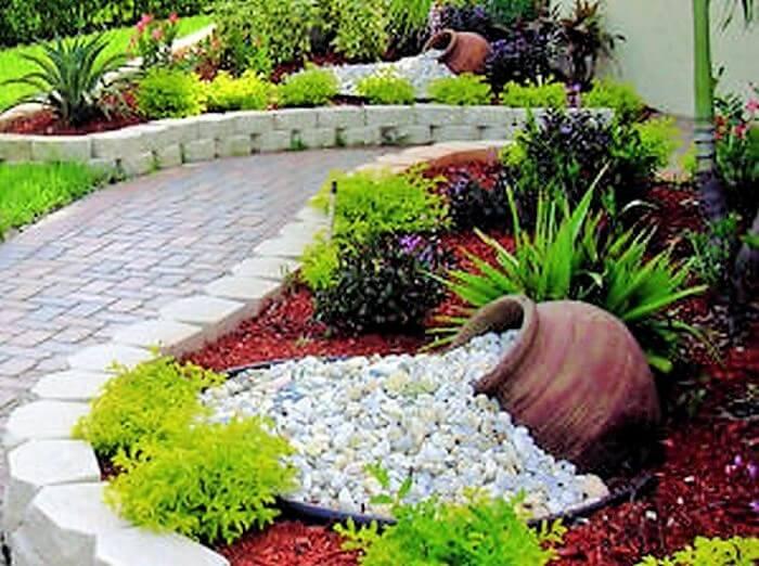 Beautiful Front Yard Landscape Garden Ideas 16
