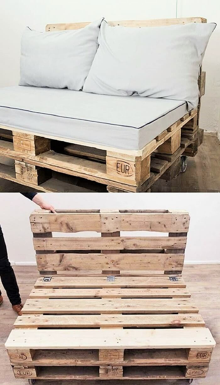 Crafting Ideas From The Wooden Pallets 1001 Motive