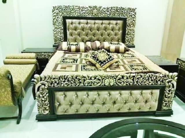 Beautiful Wooden Furniture Bed Ideas 2