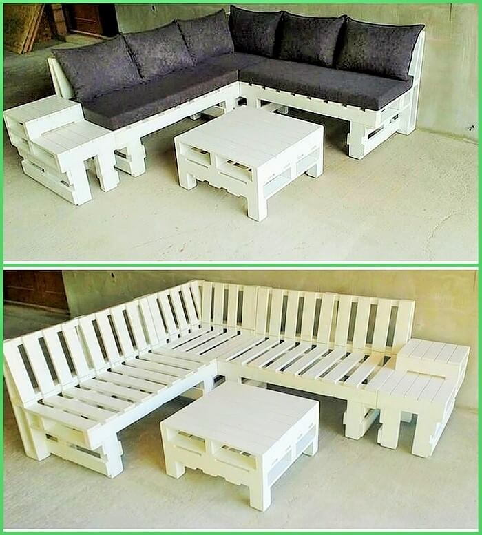 Homemade sofa With DIY Pallets (2)