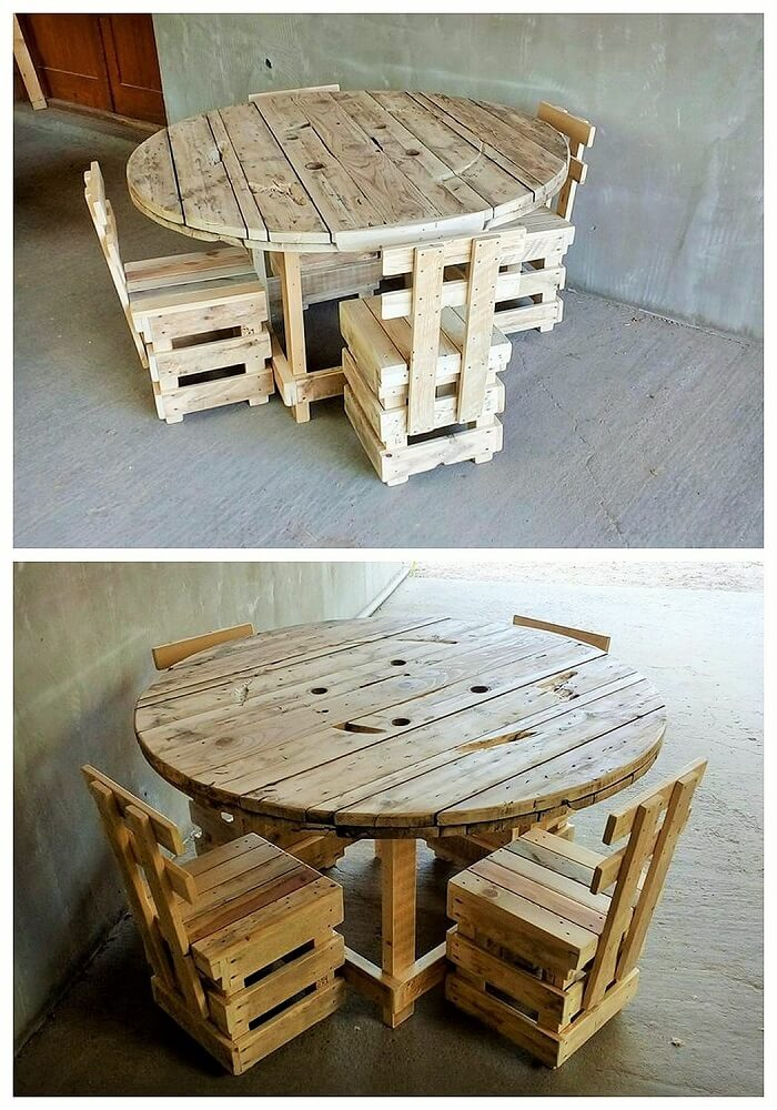 DIY WOOD PALLETS MADE TERRACE PROJECT (10)