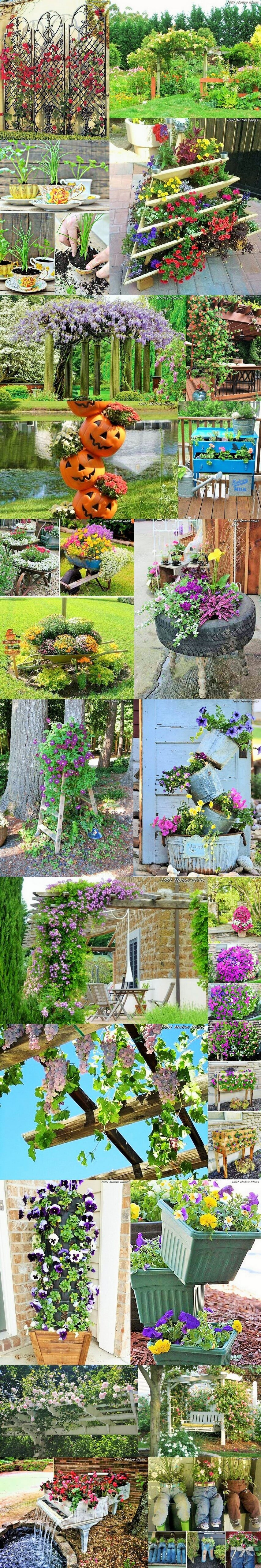 Easy-and-cheap-diy-garden-Homemade-Projects