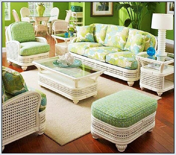 Ideas to make your apartment beautifully styled 1001 for Rattan living room furniture