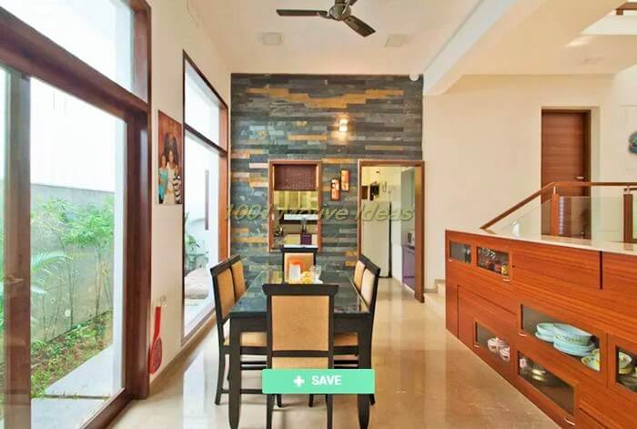 Modern dining room photos mr sajeev kumar s residence at girugambakkam near m.i.o.t hospital chennai tamilnadu homify (2)