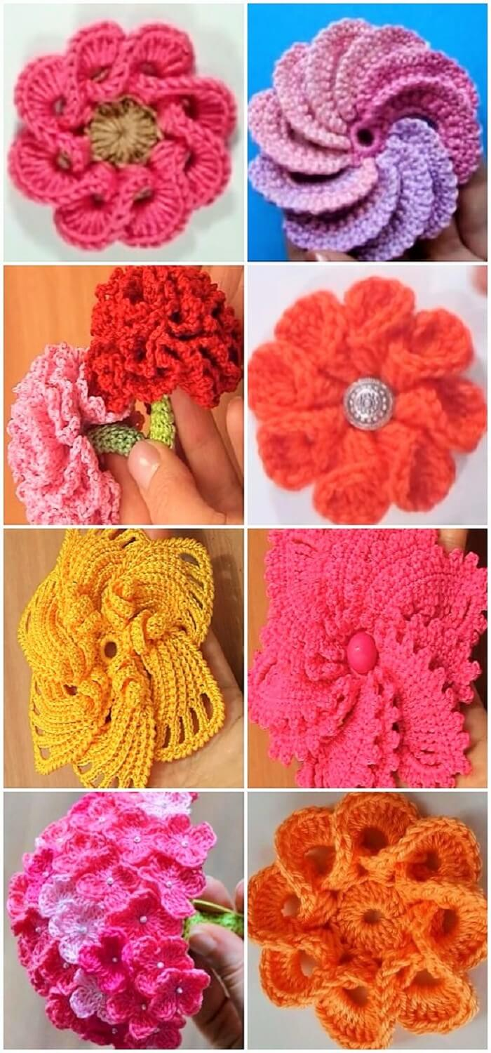 DIY-Crochet-flowers-Ideas