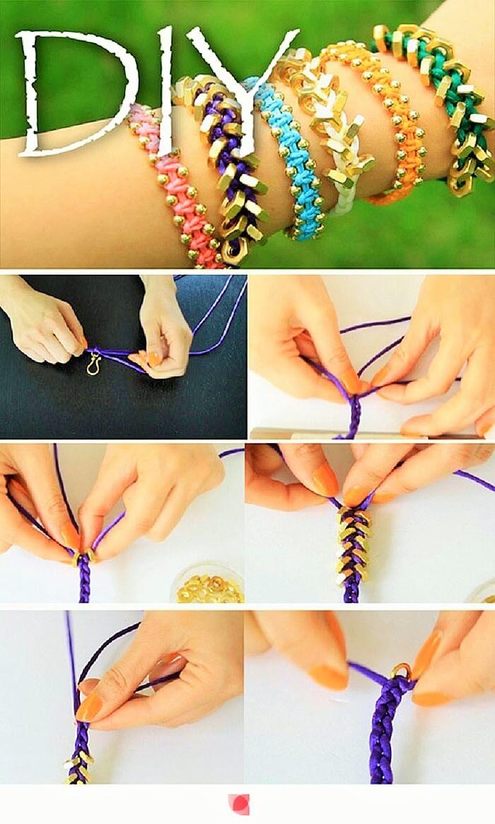 Diy-Crochet-Bracelets -Ides