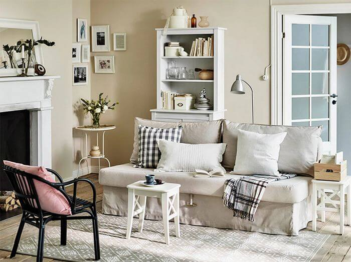 small living room seting