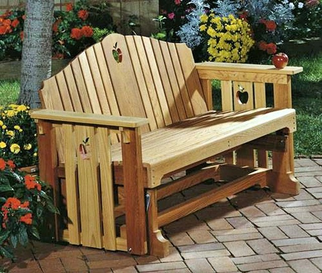 Wooden Beautiful cedar glider
