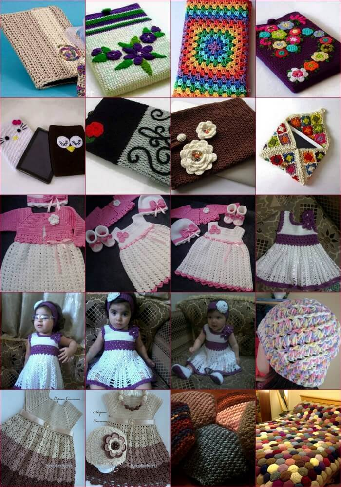 Children's crochet dress-Ideas-Project