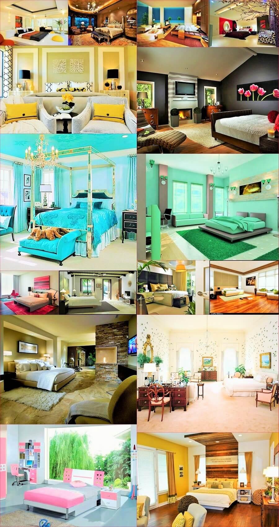 Colorful-bedroom -design