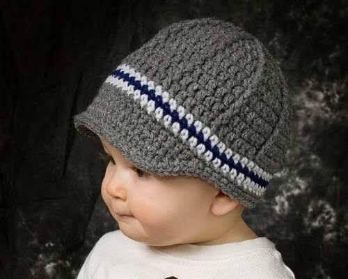 DIY Crochet baby Cap