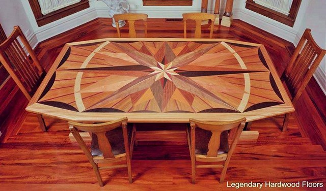 wooden Dining Room Table (2)