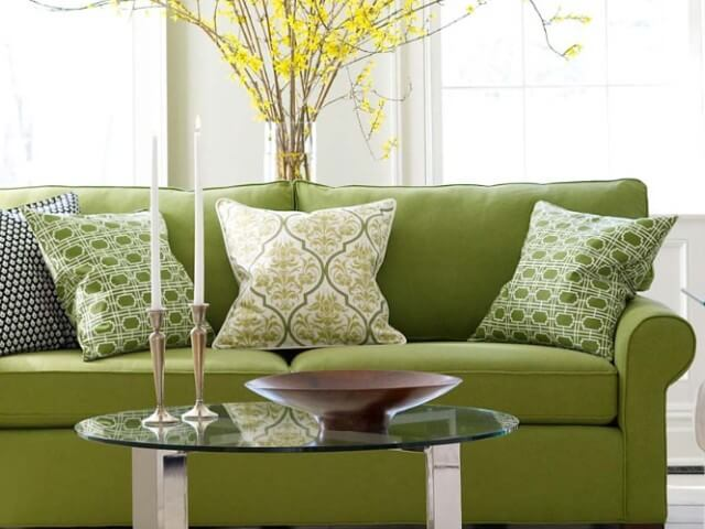 Divine-Green-Small Living Room