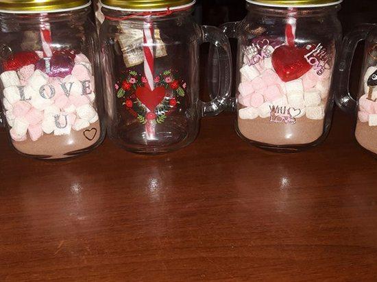 Diy crafts-Beautiful lide jar