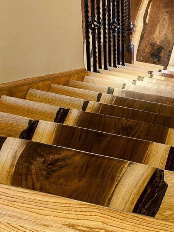 Fantastic stairs from 'Real Antique Wood'