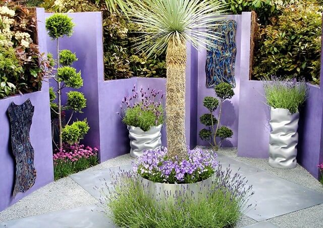 Garden decor-Purple-Pleasure (2)