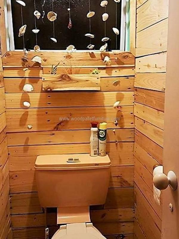 Pallets-Designs Washroom