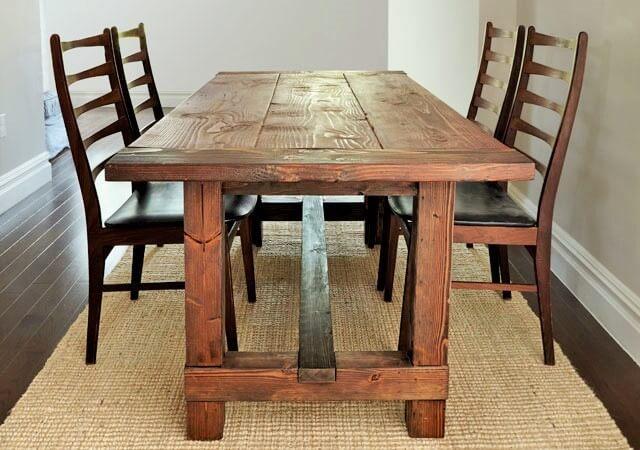 Rustic-Farmhouse-Table