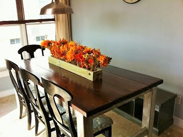 Weathered-Farmhouse-Table