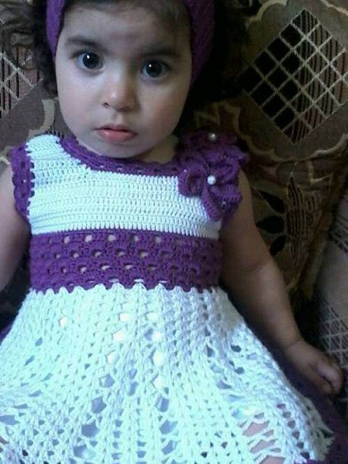 crochet baby dress ideas-3