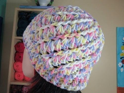 Diy chrochet cap