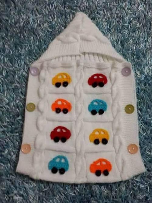 crochet baby dress -2