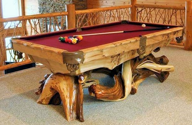 wooden new pool table (2)
