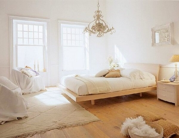 Bedroom Decoration Ideas With White Concept (2)