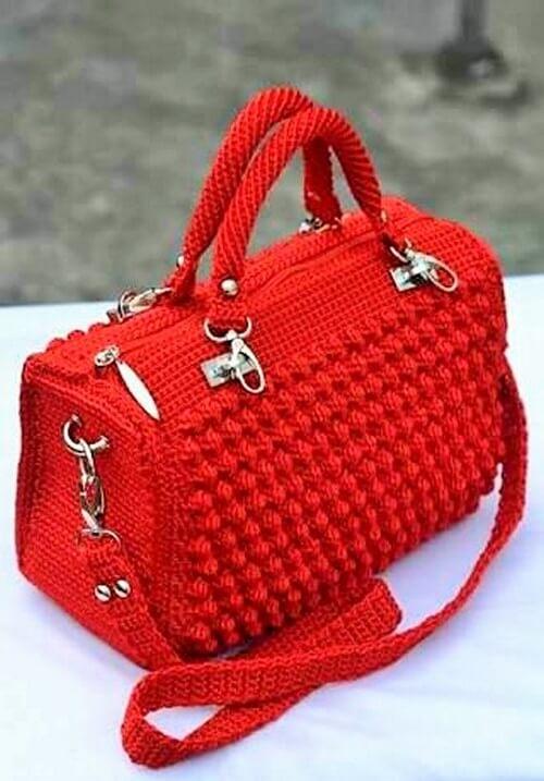 Crochet Hand Bags-3 (2)