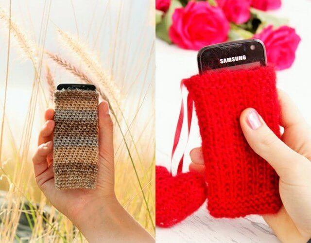 Crochet mobile caver