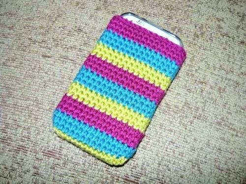Crochet mobile covers-2 (2)
