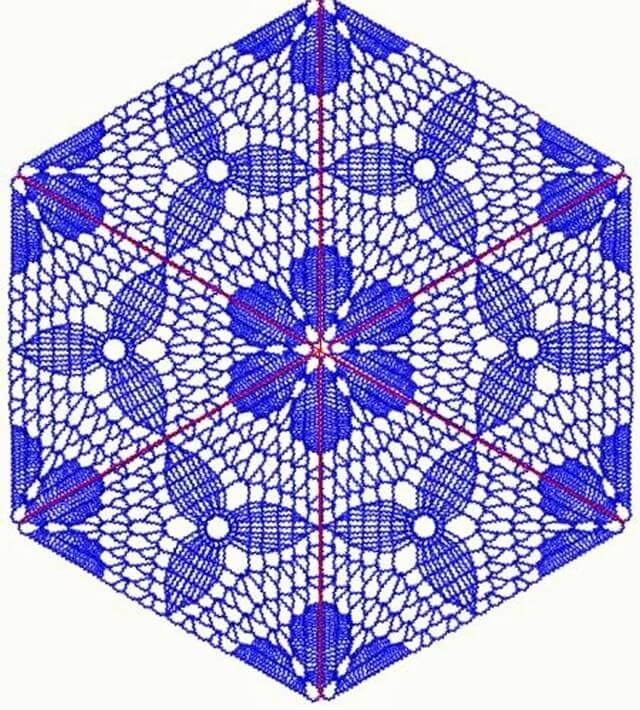 Crochet Triangle (2)