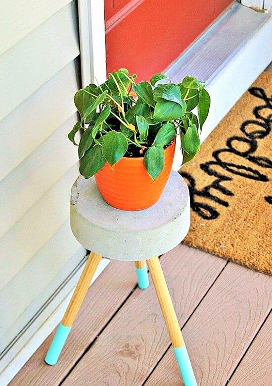DIY-Concrete-Plant-Stand (3)