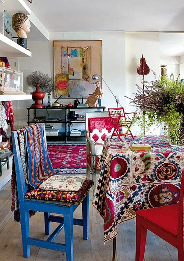 Living Room-Colorful