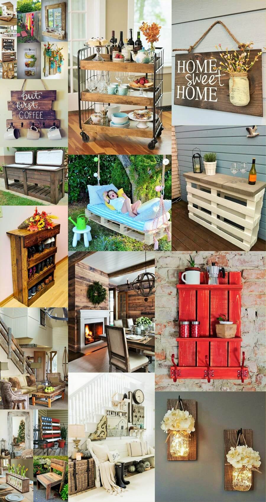 wooden-Pallets Furniture Ideas