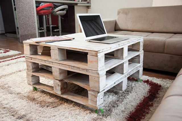 Pallets Furniture-computer-Table