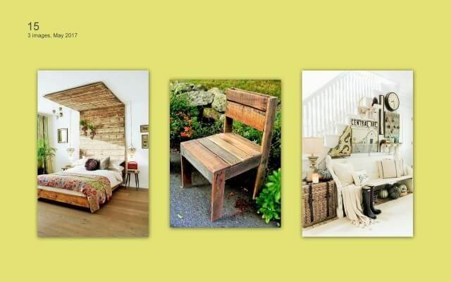 Pallets Furniture set