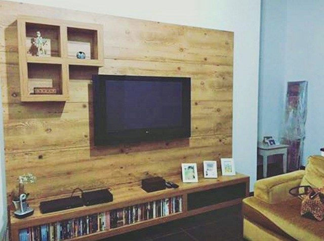 Pallets TV Setting Furniture
