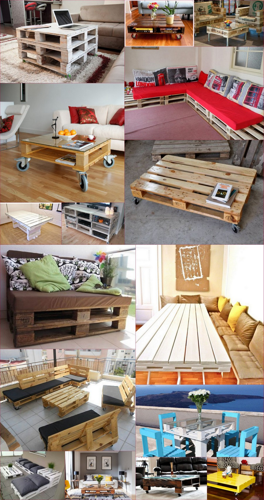 Wooden-Pallets Furniture-Ideas