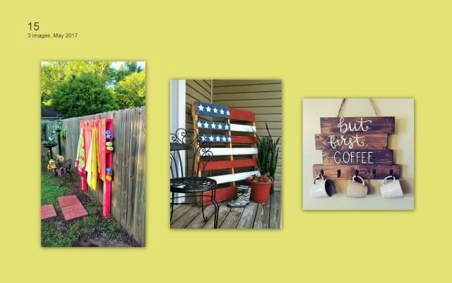 Wooden Pallets decor ideas
