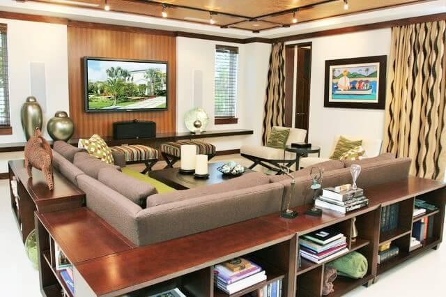 Home Decor Ideas-Couch-surround-Bookshelf