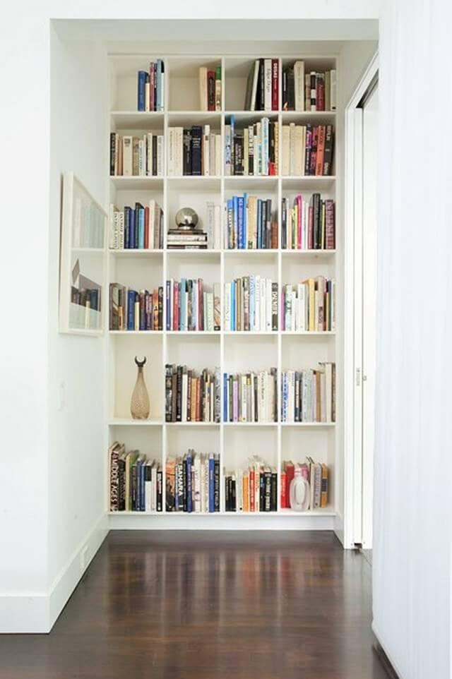Home Decor Ideas-Hallway-bookshelf